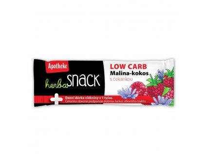 Apotheke Herba Snack LOW CARB malina kokos 55g