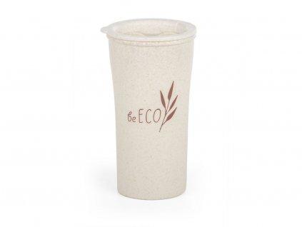 Eko kelímek beECO Latte 450 ml, béžový