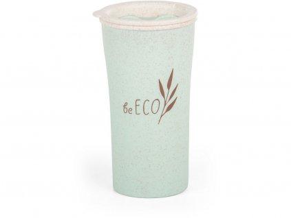 Eko kelímek beECO Latte 450 ml, zelený