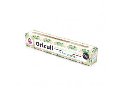 Lamazuna Oriculi zero waste čistič uší z bukového dřeva - listy (1 ks)