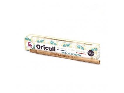 Lamazuna Oriculi zero waste čistič uší z bukového dřeva - mušle (1 ks)