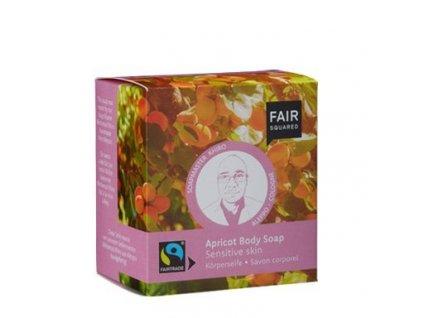 Fair Squared Tuhé mýdlo pro citlivou pokožku BIO (2 x 80 g + sáček)