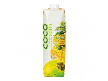 Voda kokosová mango 1 l BIO COCOXIM
