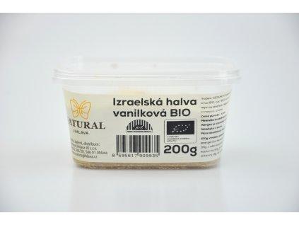 Chalva Izrael vanilková BIO - Natural 200g