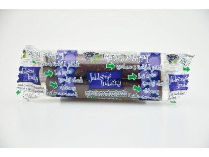 Jablečné trubičky s čokoládovou polevou a černým rybízem - Trutna 24g