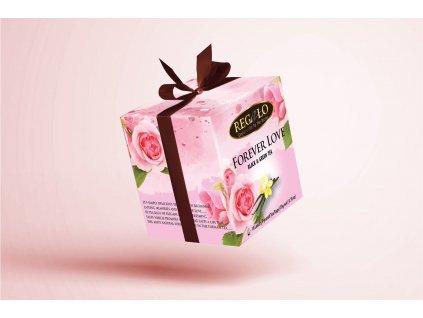 Čaj černý a zelený s příchutí růže a vanilky - Regalo 10x2g