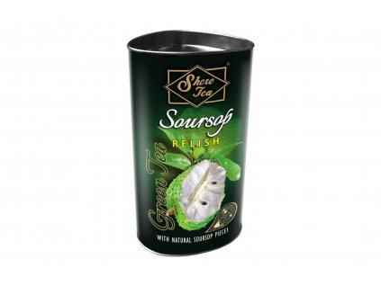 Čaj zelený sypaný s příchutí soursop - Shere Tea 100g