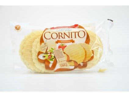 Oplatky kukuřično - bramborové s příchutí kmínu bez lepku - Cornito 100g