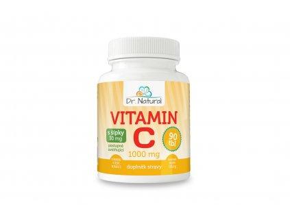 Vitamín C s šípky 1000mg 90tbl. - Dr. Natural 138g