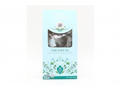 English Tea Shop Bílý čaj BIO - 15 nálevkových pyramidek 30g