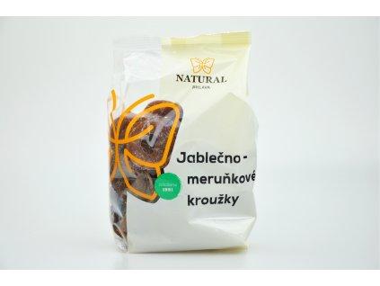 Jablečno - meruňkové kroužky bez lepku - Natural 300g