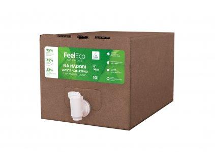 Prostředek na mytí nádobí - ovoce - Feel Eco 10l