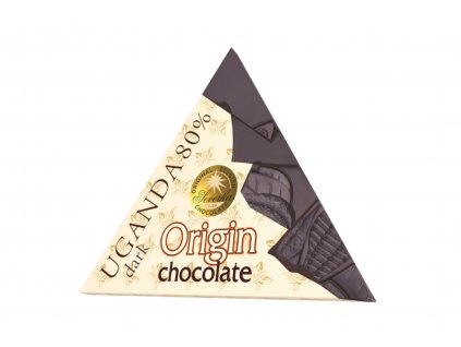 Čokoláda hořká UGANDA 80% - Severka 50g