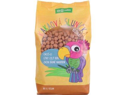 Bio kakaová sluníčka rýžová bio*nebio 200 g