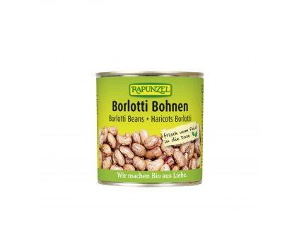 Fazole Borlotti sterilované BIO 400 g Rapunzel