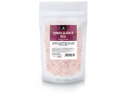 Himalájská sůl růžová hrubá 500g