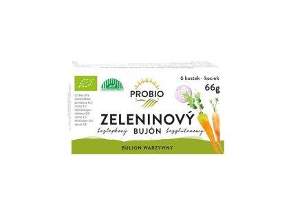 Bio Bujón zeleninový - kostky 6 x 0,5 l 66g