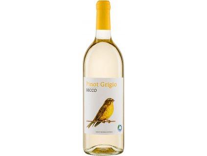 Bio Pinot Grigio IGT bílé BECCO 1 l