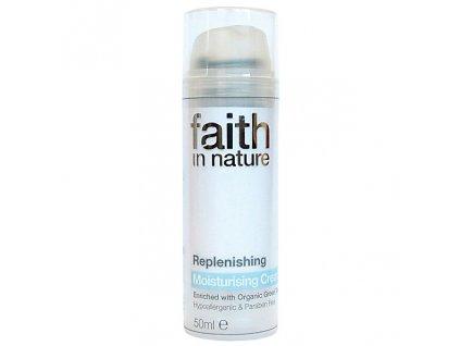Faith in Nature BIO Hydratační krém se zeleným čajem proti vráskám HA 50 ml