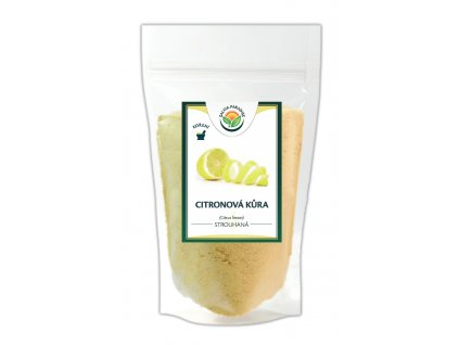 Citronová kůra strouhaná