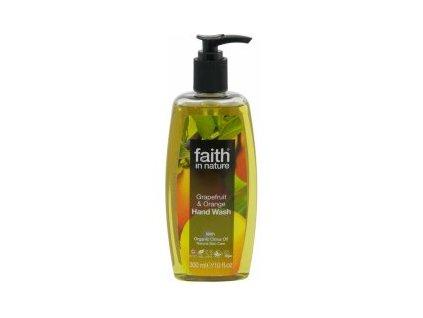 Faith In Nature tekuté mýdlo Grep a Pomeranč 300 ml