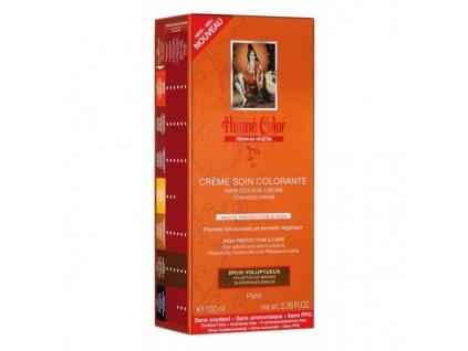 Henné Color - Barevný přeliv Rozkošná Hnědá Premium Végétal 100 ml