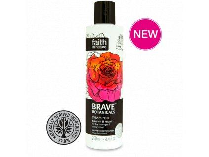 Faith in Nature BRAVE revitalizační šampon - Neroli a Argánie 250 ml NEW