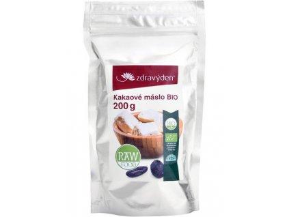 Kakaové máslo BIO 200g