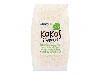 Kokos strouhaný 200g BIO COUNTRYLIFE