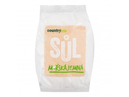 Sůl mořská jemná 1kg COUNTRYLIFE