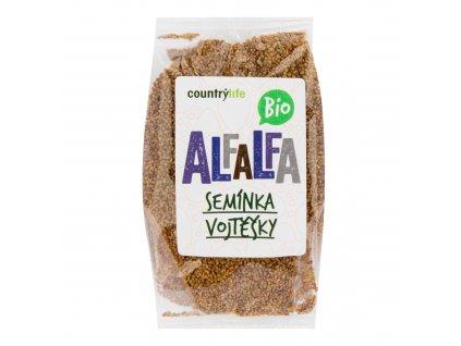 Alfalfa semínka vojtěšky 125g BIO COUNTRYLIFE