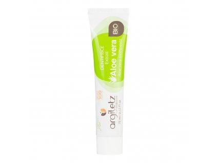Zubní pasta se zeleným jílem aloe vera 75 g BIO ARGILETZ