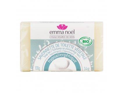Mýdlo rostlinné hypoalergenní 100 g BIO EMMA NOËL