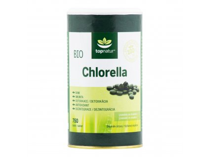 Chlorella 750 tablet 150g BIO TOPNATUR