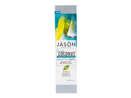Zubní pasta simply coconut eukalyptus 119 g JASON