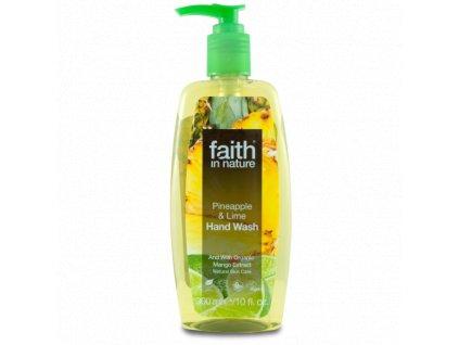 Faith in Nature BIO Tekuté mýdlo AnanasaLimeta 300 ml