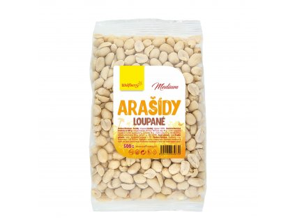 Arašídy loupané medium 500 g Wolfberry