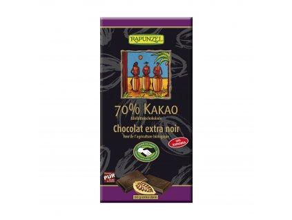Čokoláda hořká 70 % BIO 80 g Rapunzel