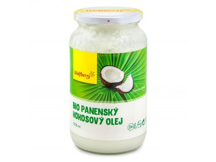 Panenský kokosový olej BIO 1000 ml Wolfberry