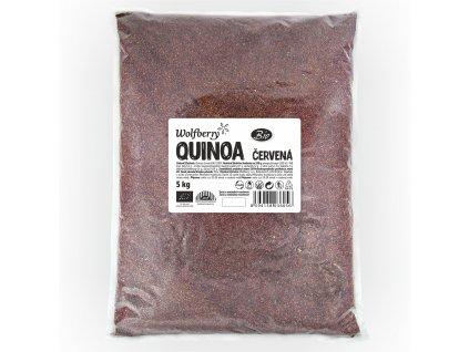 Quinoa červená BIO 5 kg Wolfberry
