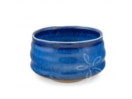Miska Čavan na Matcha čaj Wolfberry/modrá
