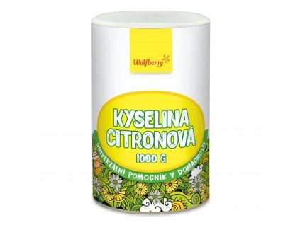 Kyselina citronová 1000 g dóza Wolfberry