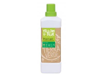 Tierra Verde – Prací gel bez vůně (Yellow & Blue), 1 l