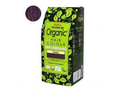 Radico Přírodní barva na vlasy BIO (100 g) - fialová