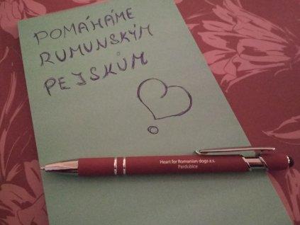 Propiska - Heart For Romanian Dogs z.s.