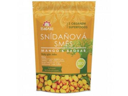 Snídaňová směs Mango-baobab 300g
