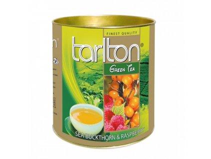 Tarlton zelený čaj MALINA,RAKYTNÍK 100g