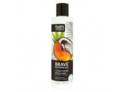 Faith in Nature BRAVE hydratační kondicionér - Kokos a Plumérie 250 ml NEW