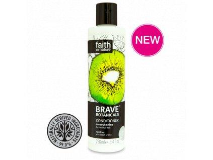 Faith in Nature BRAVE kondicionér pro větší lesk - Kiwi a Limeta 250 ml NEW