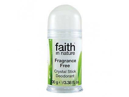Faith in Nature přírodní tuhý deodorant Crystal HA 100 g